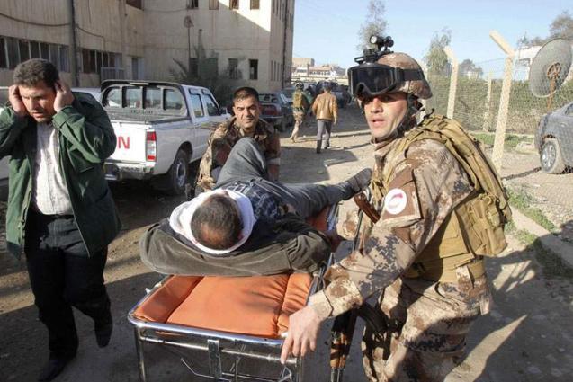استشهاد اثنين من رجال الجيش وإصابة ثلاثة آخرين بجروح بانفجار قنبلة بشمال غرب البلاد