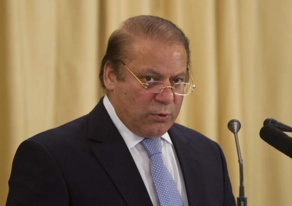 رئيس الوزراء نواز شريف يترأس الاجتماع لاستعراض الوضع الأمني في مدينة كراتشي الباكستانية