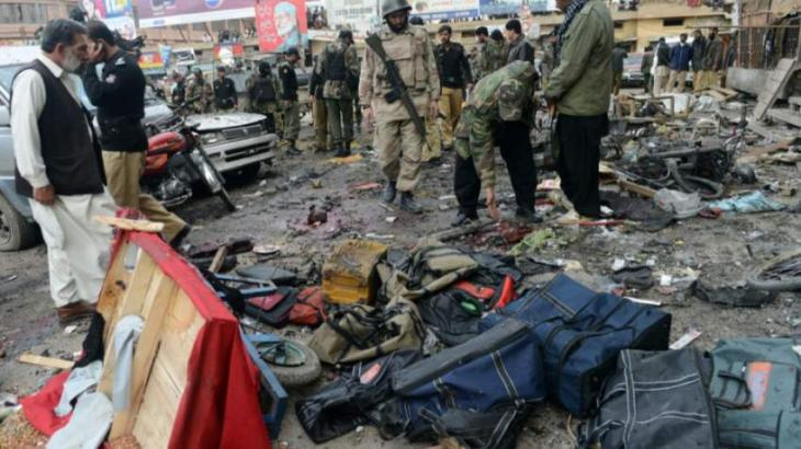 إصابة 11 شخص بجروح في انفجار في إقليم بلوشستان بجنوب غرب البلاد