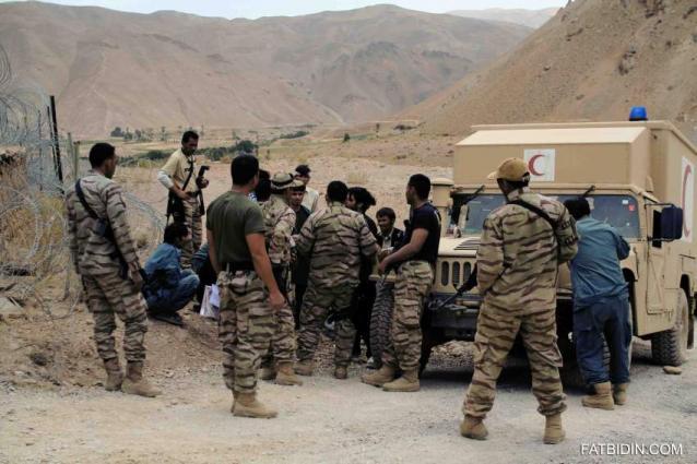 اعتقال 8 إرهابيين خلال عملية تمشيط أمنية بمدينة