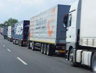 French farmers, truckers block roads in 'Jungle' demo