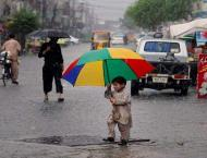 Heavy rains forecast for various areas during next 24 hours