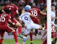 Football: Korea boss slams Syria's 'anti-football'