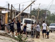 Newton makes landfall again in Mexico after killing 2