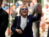 Clinton diagnosed with pneumonia, 'dehydrated' at 9/11 event