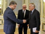German, French FMs push peace bid in war-torn Ukraine