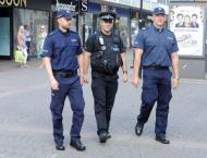 Polish officers join UK police patrol after murder