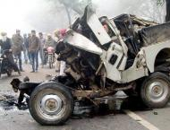 Two women killed, youth injured in road accident