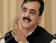 Gilani inquires after injured of train accident