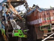 One killed, 21 injured in Nasirabad accident