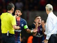 Football: PSG's Verratti has Champions League red card rescinded