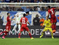 Football: French league results