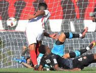 Football: Falcao header fires Monaco top