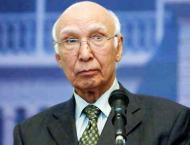 Sartaj says deteriorating situation in Kashmir is result of India ..