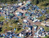 Work starts on wall near Calais 'Jungle' migrant camp