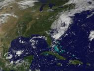Atlantic storm strengthens, but likely to miss US, Caribbean