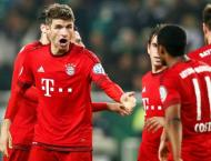 Football: Perfect Bayern reclaim top spot in Germany