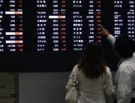 Tokyo stocks down by break