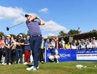 Golf: European Open scores