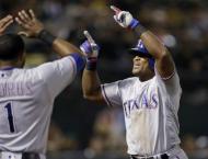 Baseball: Rangers beat Oakland to clinch AL West