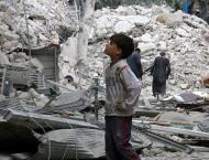 Syria's Aleppo reels from deadly air strikes