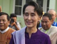Myanmar's Suu Kyi unwell after trip to US, UK