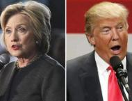 Trump, Clinton lock horns on taxes, email controversy