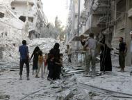 Syria army retakes Aleppo district as bombs rain down