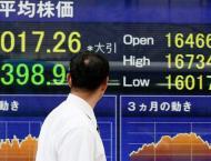 Tokyo shares open lower over strong yen