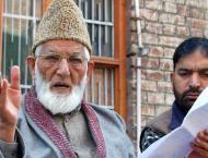 Ali Gilani questions UN validity after Sushma's claim on Kashmir