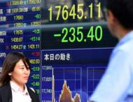 Tokyo shares sink by close as firms go ex-dividend