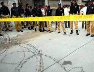 Five injured in grenade attack on shop