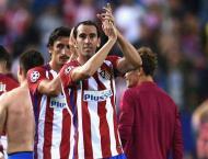 Football: Atletico's Godin suffers ankle sprain