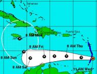 Hurricane Matthew forms in Caribbean