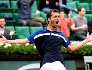 Tennis: Top seed Thiem drops in Chengdu