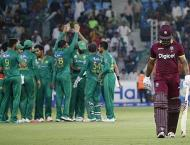 Cricket: Pakistan vs West Indies one-day scoreboard