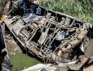 Venezuela bus crash leaves 11 dead, 14 hurt