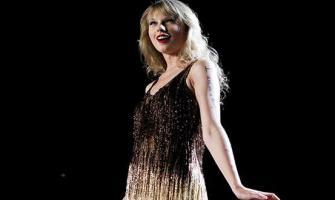 Singer Taylor Swift walked on ramp in New York Fashion week