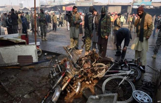 مصرع 12 شخصا وإصابة 44 آخرين بهجوم انتحاري استهدف محكمة في مدينة مردان الباكستانية