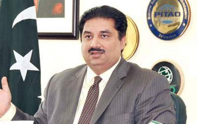 وزير التجارة الباكستاني يحث المجتمع الدولي على لعب الدور الفعال للقضاء على ظاهرة الإرهاب