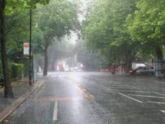 Rain Thunderstorm Likely At Isolated Places Of Kashmir Adjoining