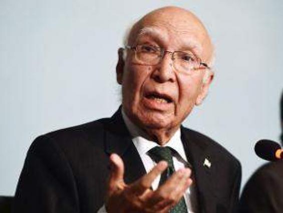 مستشار رئيس الوزراء الباكستاني للشؤون الخارجية: يجب على الهند إجراء تحقيقا دوليا في حادثة