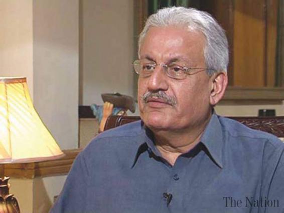 رئيس مجلس الشيوخ الباكستاني يؤكد على ضرورة تعزيز العلاقات بين باكستان ونيبال عبر تبادل الوفود البرلمانيذ