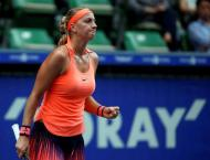 Tennis: Kvitova ends title drought with Wuhan win