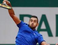 Tennis: Bad boy Kyrgios romps through Tokyo opener