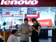 Tokyo shares up, Fujitsu soars on Lenovo merger report