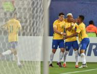Football: Brazil, Uruguay romp as Chile crash again