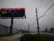 Life-threatening hurricane bears down on Florida