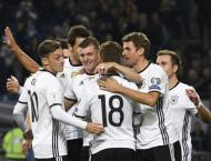 Football: Germany target 'Perfect 12' on road to Russia