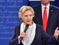 Explosive Trump repeats call to jail Clinton